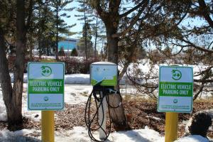 Picture of EV Parking Signs